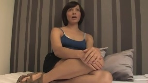 Adulteress blackmailed together with dominated in thraldom with anal sex.
