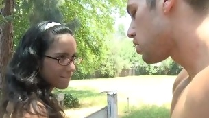 Nasty chick is captivating guy with her specialist oral